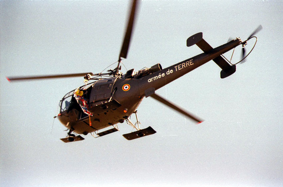 SA-316B Alouette III