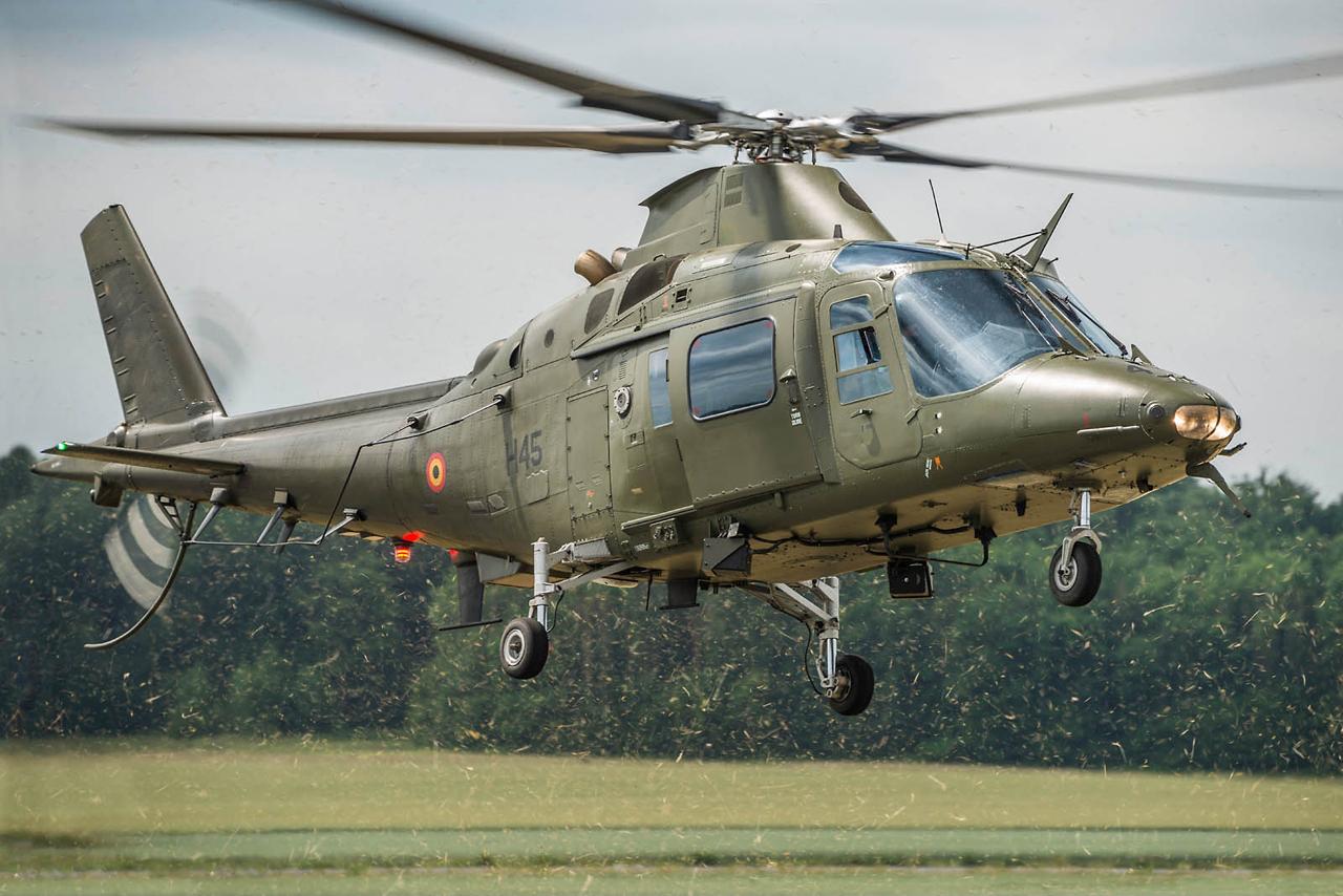 A109 BELGIAN AIR FORCE